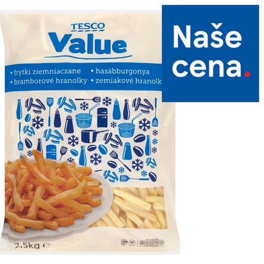 Tesco Value Potato Fries 2.5kg