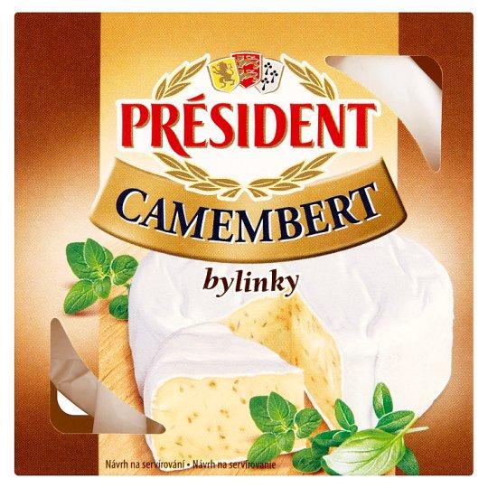 Président Camembert bylinky 90g