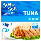 Sun & Sea Tuna in Brine 80g