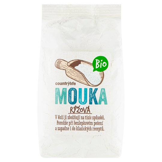 Country Life Organic Rice Flour 400g