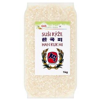 Shin Food Rýže na suši Hankuk 1kg