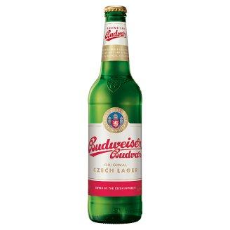 Budweiser Budvar B:Original světlý ležák pivo 0,5l