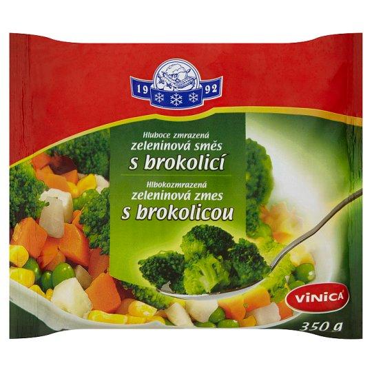 Vinica Hluboce zmrazená zeleninová směs s brokolicí 350g