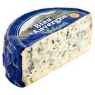Volcan Bleu d' Auvergne Natural Cheese Full-Fat with Mold Inside the Mass (Sliced)