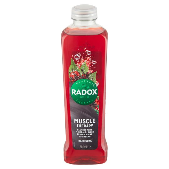 Radox Men Muscle Therapy Bath Soak 500ml