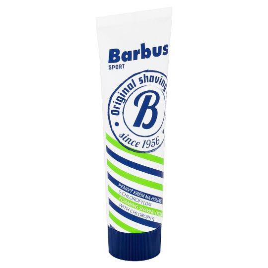 Barbus Sport Foam Shaving Cream with Chlorophyll 75g