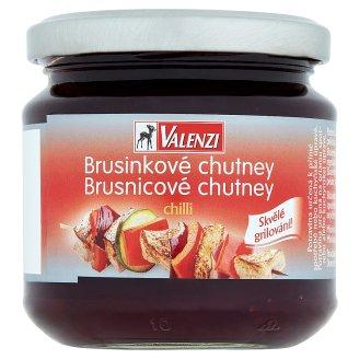 Valenzi Brusinkové chutney chilli 220g