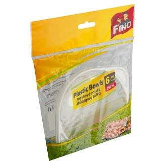 Fino Plastové misky 250ml 6 ks