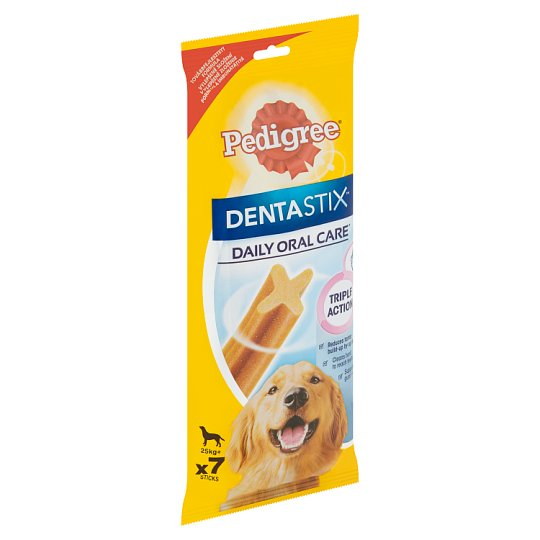 Pedigree Dentastix Denní péče o ústní dutinu 25kg+ 7 tyčinky 270g