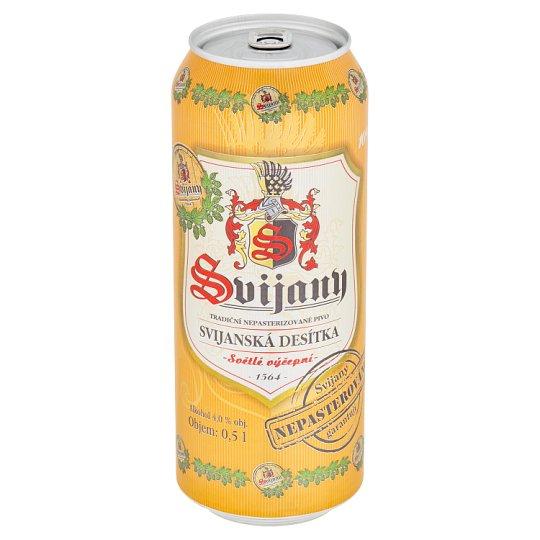 Svijany Svijanská desítka pivo světlé výčepní 0,5l