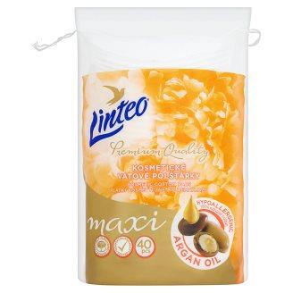 Linteo Kosmetické vatové polštářky maxi 40 ks