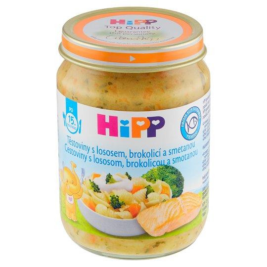 HiPP Těstoviny s lososem, brokolicí a smetanou 250g