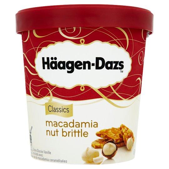 Häagen-Dazs Vanilkový mražený krém smetanový s karamelizovanými makadamovými ořechy 500ml