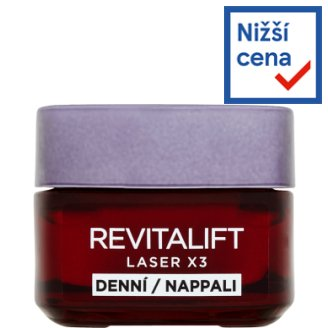 image 1 of L'Oréal Paris Revitalift Laser X3 Daily Anti-Wrinkle Intensive Care 50ml