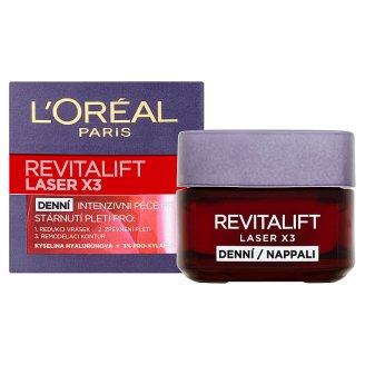 image 2 of L'Oréal Paris Revitalift Laser X3 Daily Anti-Wrinkle Intensive Care 50ml