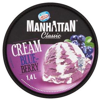 Manhattan Mražený krém smetanovo-borůvkový 1400ml