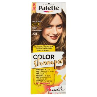 Schwarzkopf Palette Color Shampoo Hair Color Light Brown 231