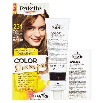 image 2 of Schwarzkopf Palette Color Shampoo Hair Color Light Brown 231