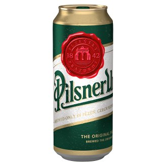 Pilsner Urquell Beer Lager Light 500ml