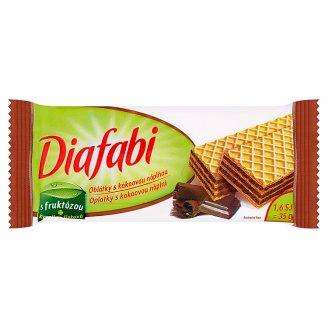 Pečivárne Liptovský Hrádok Diafabi oplatky s kakaovou náplní 35g