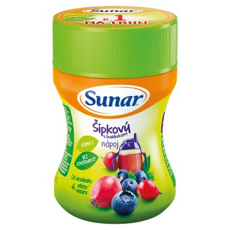 Sunárek Rosehip with Blueberries Drink for Children 200g