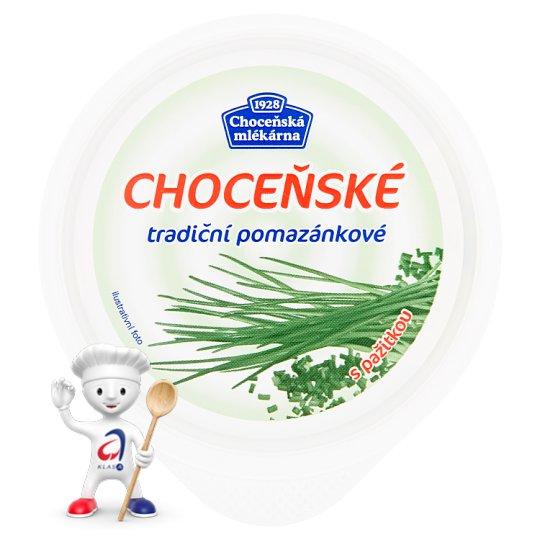 Choceňská Mlékárna Choceňské Traditional Spread with Chive 150g