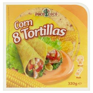Poco Loco Tortillas kukuřičné placky 8 ks 320g