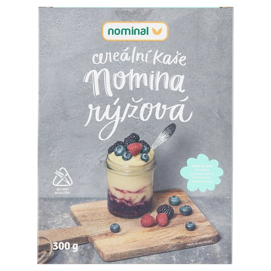Nominal Nomina Cereal Rice Porridge 300g