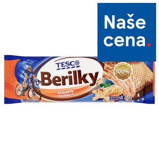 Tesco Berilky arašídové 47g