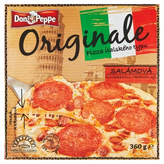 Don Peppe Originale Pizza salámová 360g