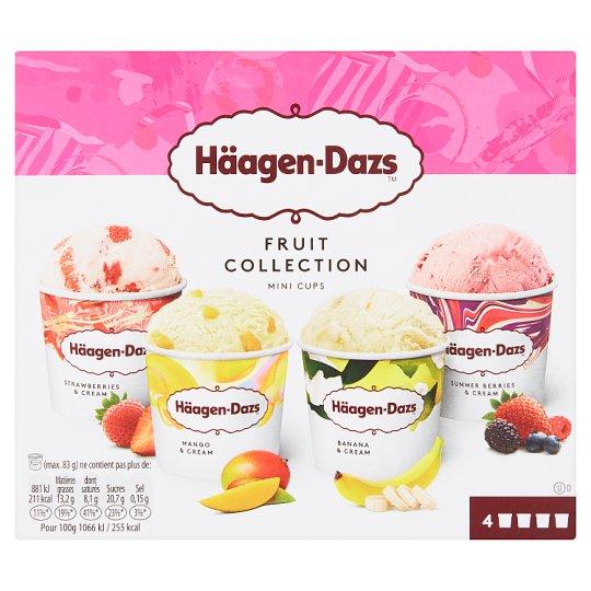 Häagen-Dazs Fruit Collection Mini Cups 4 x 95ml