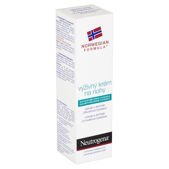 Neutrogena Výživný krém na nohy 50ml