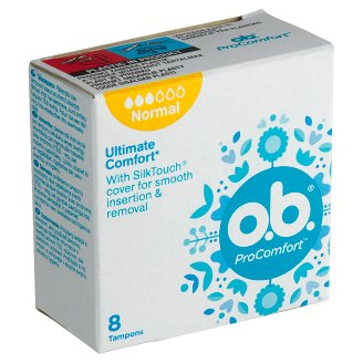 O.B. ProComfort Normal tampony 8 ks