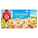 TEEKANNE Heřmánek, Natural Herbal Tea, bylinný čaj, 20 sáčků, 22g