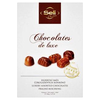Chocolate Seli Chocolates de luxe dezertní směs čokoládových bonbónů 180g
