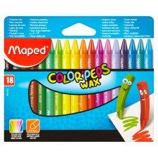 Maped Color' Peps Wax Crayons 18 pcs