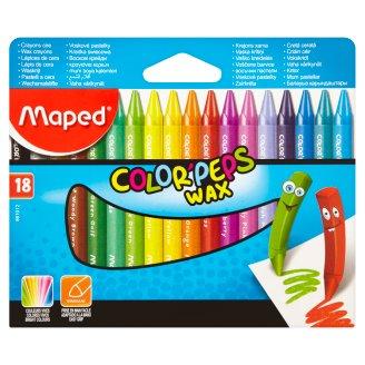 Maped Color' Peps Wax voskové pastelky 18 ks
