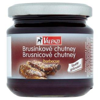 Valenzi Brusinkové chutney barbecue 220g