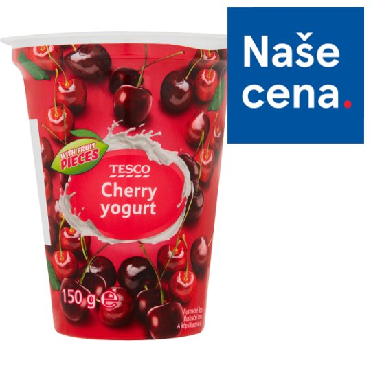 Tesco Yogurt Cherry 150g