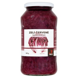 Severofrukt Cabbage Red 640g