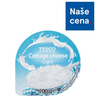 Tesco Cottage Cheese Light 200g