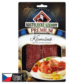 Kostelecké Uzeniny Premium Křemešník Salami 80g