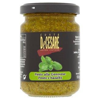 Conte DeCesare Pesto z bazalky 135g