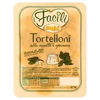 Dali i Facili Tortelloni vaječné nudle plněné sýrem ricotta a špenátem 250g