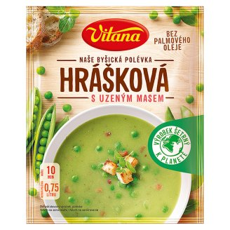 Vitana Peas with Smoked Meat 64g