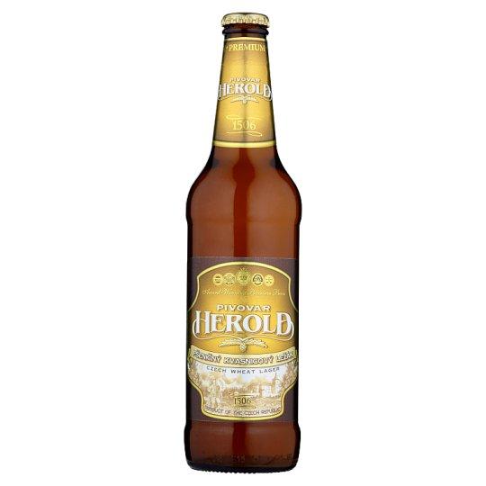 Pivovar Herold Pšeničný kvasnicový ležák 0,5l