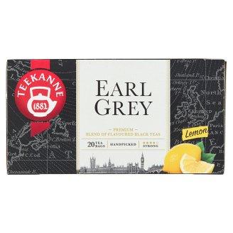 TEEKANNE Earl Grey Lemon, černý čaj aromatizovaný, 20 sáčků, 33g