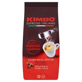 Kimbo Espresso Napoletano pražená zrnková káva 250g
