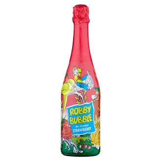 Robby Bubble Strawberry Sparkling Non-alcoholic Drink 0.75L