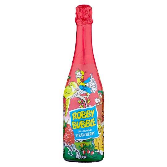 Robby Bubble Strawberry nealkoholický nápoj ochucený 0,75l